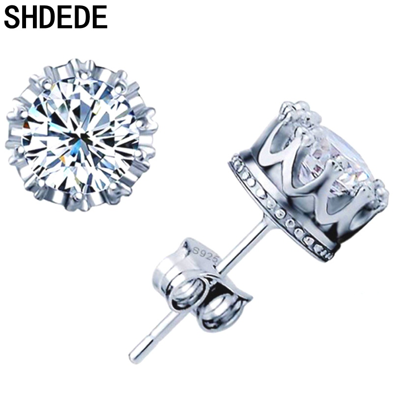 46ea72e3d Detail Feedback Questions about SHDEDE Fashion Jewelry Crystal from  Swarovski Stud Earrings For Women Accessories Classic Simple Valentine's  Day Gift ...