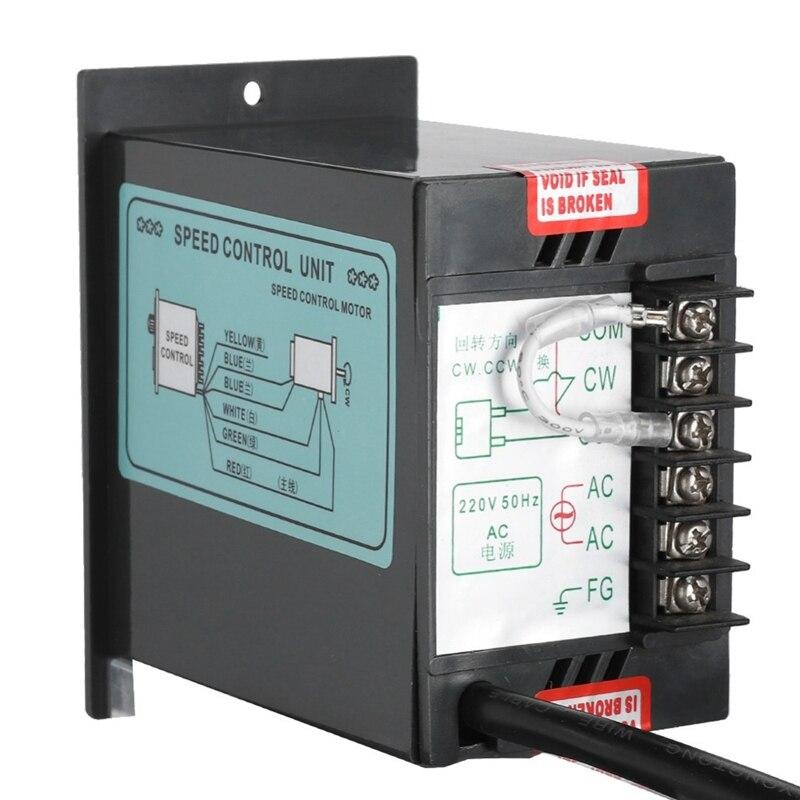Image 5 - Ac 220V Motor Speed Controller 50Hz 250W Digital Adjustable Stepless Plc Motor Speed Controller 0 1450Rpm Speed Regulator-in AC Motor from Home Improvement