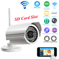 OwlCat Outdoor Bullet IP Camera WIFI SD Card 1MP 720p 960p HD Wireless Survelliance CCTV IP Cam IR P2P Onvif iPhone Android