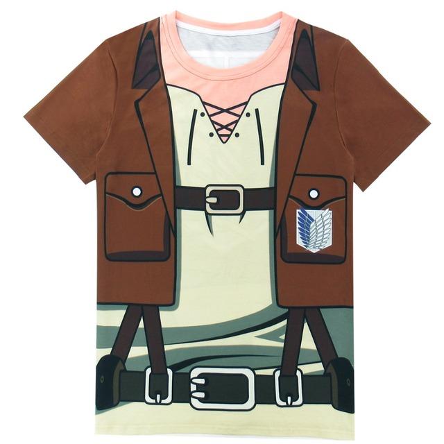 Attack on Titan Men Scout Regiment 3D T-Shirts