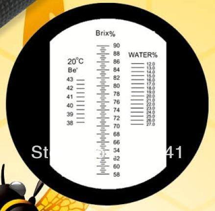 Без калибровки масло brix и Мёд Ручные рефрактометры rhb-90tatc