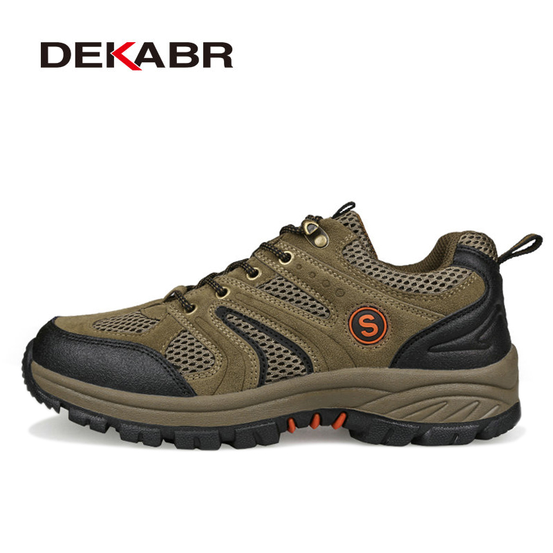 2018 Hot Sale High Quality Breathable Outdoor New Hiking Shoes Men Anti-skid Mountain Climbing Shoes Brand Men Trekking Shoes new hot sale children shoes comfortable breathable sneakers for boys anti skid sport running shoes wear resistant free shipping