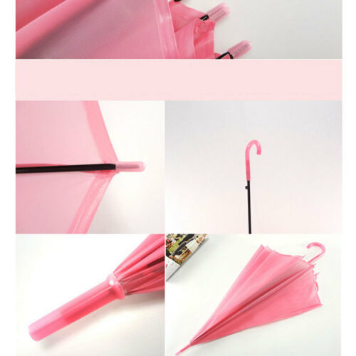 Image 2 - 2019 New Colorful Transparent Automatic Rain Umbrella Dome Wedding Party Favor Waterproof-in Umbrellas from Home & Garden