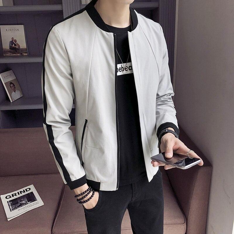 2019 nouveau rapide rouge homme avec le col du col Slim mâle baseball uniforme veste coréenne décontracté étudiant veste