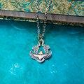Retro Fashion Eagle Necklace Pendants Gothic Biker Sport Men sterling silver personaily eagle necklace for men  Jewelry