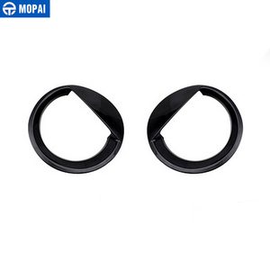 Image 5 - MOPAI ABS Car Exterior Headlight Light Lamp Decoration Cover Trim Stickers for Jeep Patriot 2011 2016 Car Accessories Styling