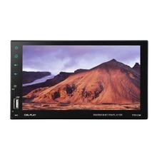 Hevxm 7701 2 din tela de toque do carro mp5 player universal rádio do carro estéreo áudio vídeo multimídia player espelho ligação