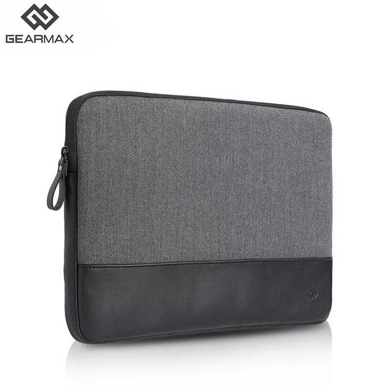 Gearmax Leather Laptop Sleeve For Xiaomi Mi Notebook Pro 11 12 13.3 14 15.4 Waterproof Laptop Bag Case For Macbook Air 13 15 Men