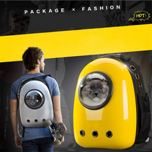Space Capsule Shaped Pet Carrier Breathable backpack for dog cat outside Travel portable bag pet products accessories GB0121