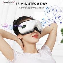 Smart Bluetooth Music Eye Massager Mask Wireless Vibrate Air Pressure Hot Compress Far-infrared Relieve Dark Circles Eye Fatigue недорого