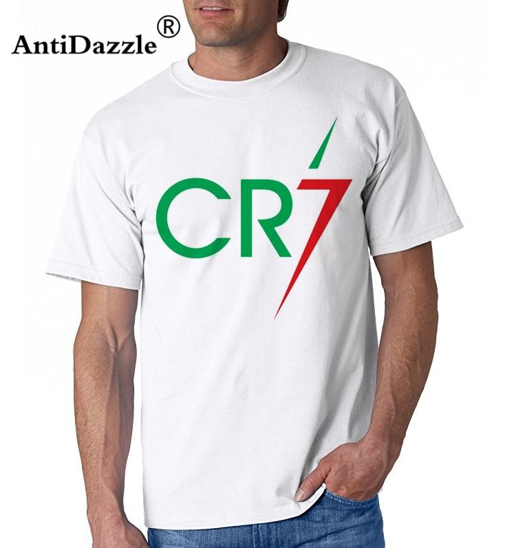 Xqxon 2018 Men Women Summer T Shirt Cristiano Ronaldo Cr7 Design Printed Cool T-shirt Tops Tee D196 2019 Official Tops & Tees