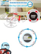 FINECO FX 5W FX5W Mini Drone 4CH RC Quadcopter Helicopter Drone Ruggedness UAV Rotective Fence RC