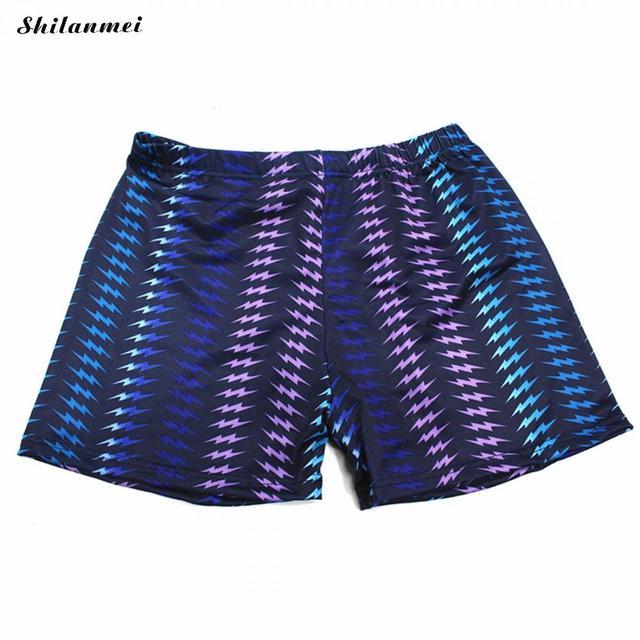 2018 New Men Swimsuit Summer Boxer Short Swimming Trunk Pant Boys Surf Board Beach Wear Man Swimwear Print Trunk Swimwear