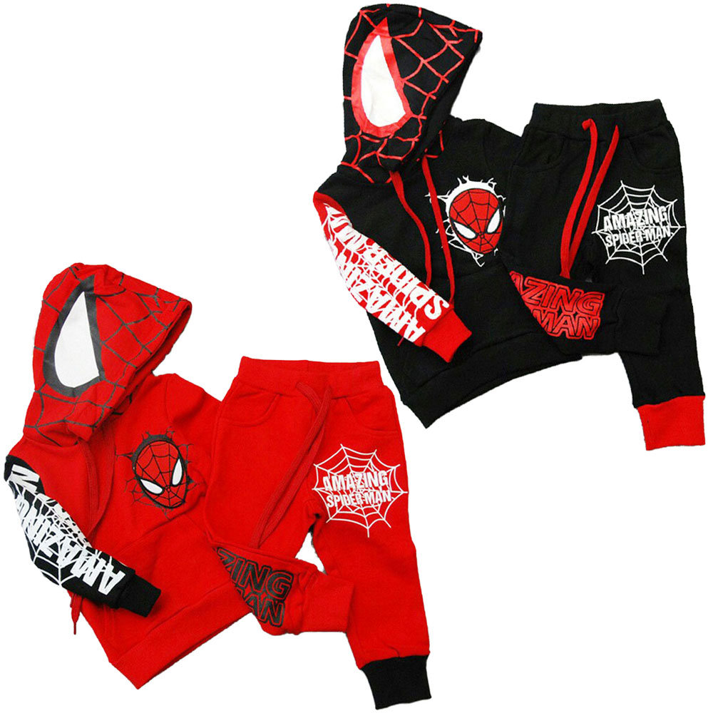 Spiderman Boys Girls Kids Spring Autumn Hoodies Sweatshirt Children/'s Long Shirt