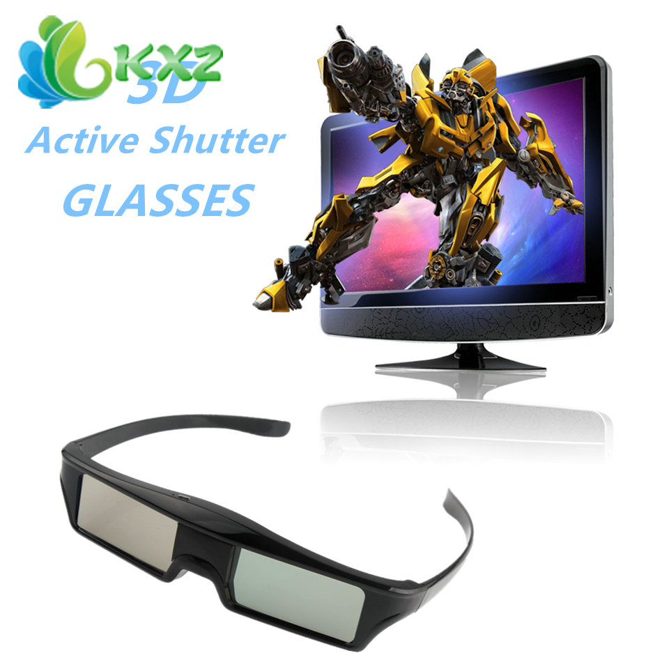 Rechargeable Lithium <font><b>Battery</b></font> Powered Bluetooth Active Shutter 3D <font><b>Glasses</b></font> <font><b>for</b></font> <font><b>Samsung</b></font> Three DimensionalTVs