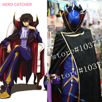 Hero catchercustom wykonane tylko costume code geass lelouch lamperouge cosplay costume cosplay costume set lelouch lamperouge outfit