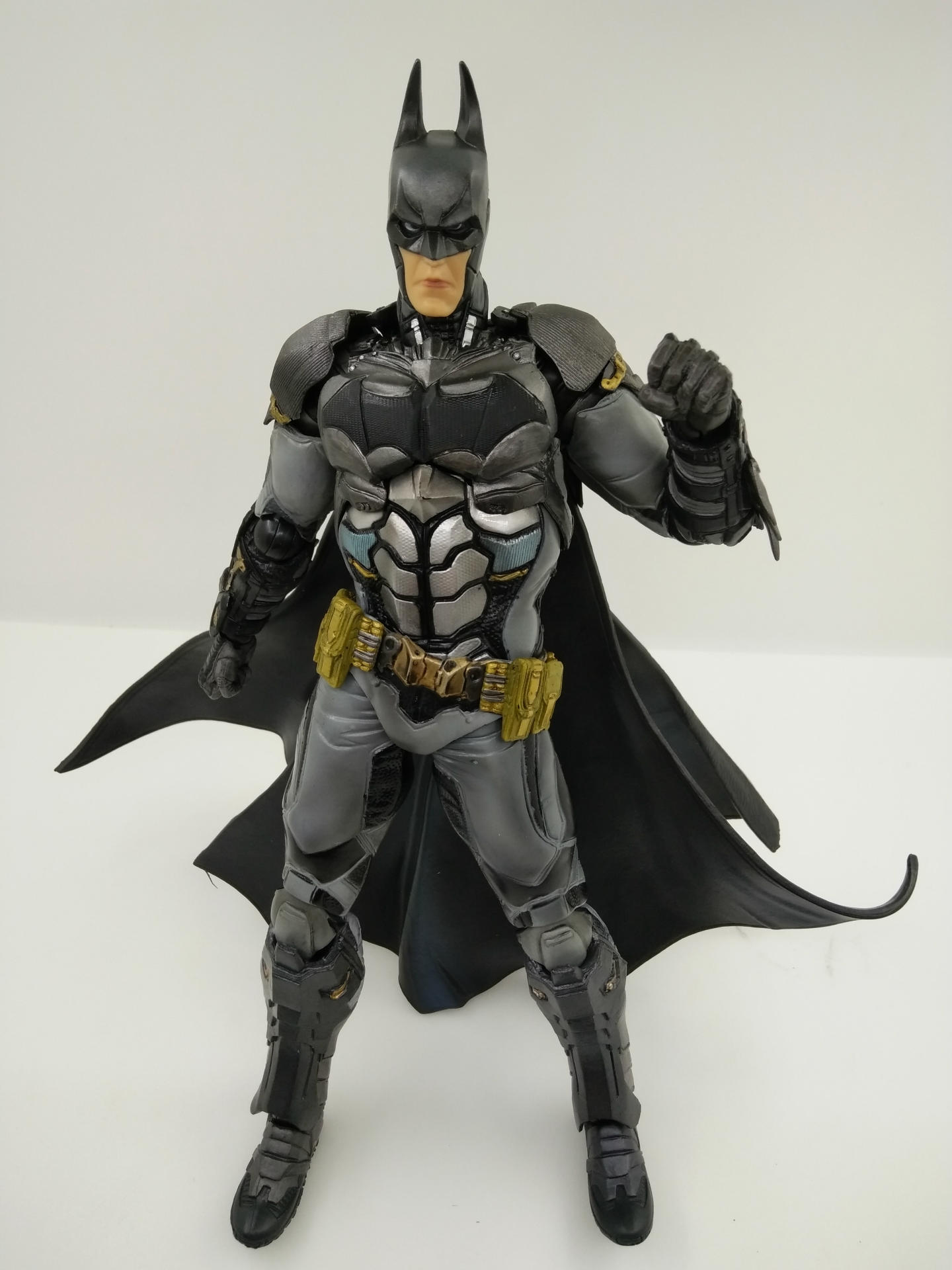 WVW 27CM Hot Sale The Avengers Movie Hero Batman Play Arts Model PVC Toy Action Figure Decoration For Collection Gift цена и фото