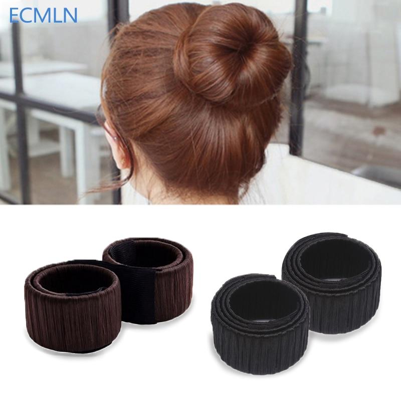 Girls Fashion DIY Magic Hair Bun Maker High Quality Hair Accessories for Women Dish Made HairBands Fine Headbands 2017 unbrand diy sushi maker