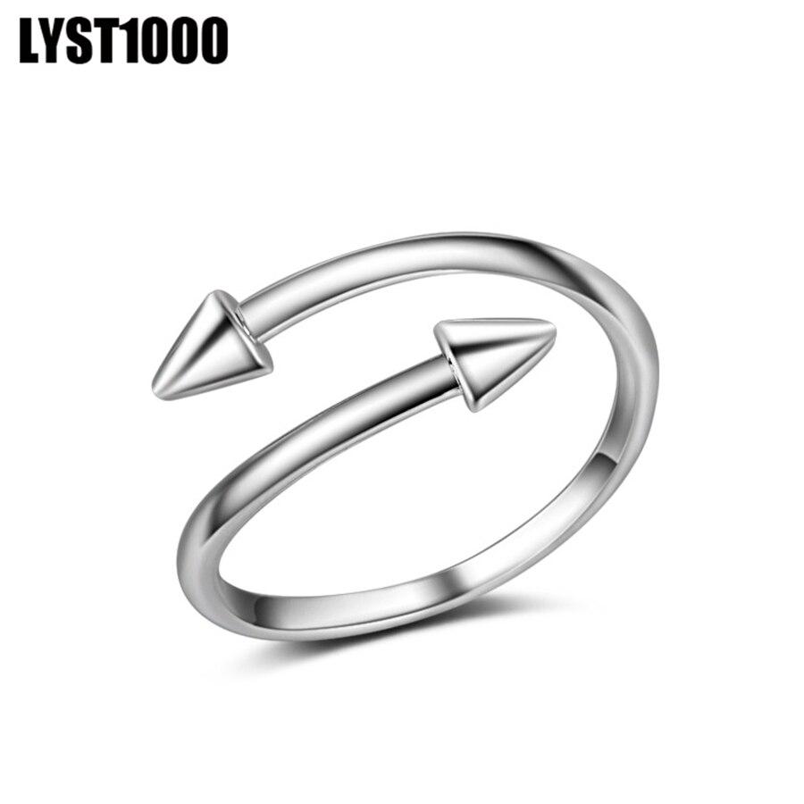 Luanxinxiang модные панк-рок винт ногтей кольцо Нержавеющаясталь покрытие серебро Цвет Мода уникальный Стиль кольца для молодых людей