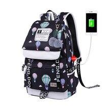 Купить с кэшбэком new 2018 girls school bags fashion girl school backpack women travel bags  korean style backpacks for teenage girls laptop bag