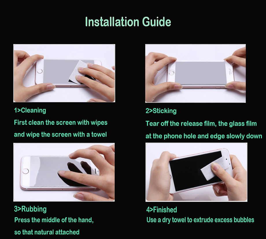 الزجاج المقسى ل Prestigio و غريس Q5 واقي للشاشة فيلم ل Prestigio و Muze A5 C3 C5 Wize N3 NV3 NK3