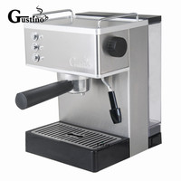 Gustino 19Bar Semi Automatic Coffee Maker Espresso Machine with Froth Milk Stainless Steel 304 Housing for Home or Office Using