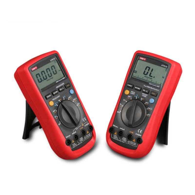 UNI-T Modern Digital Multimeters UT61D Auto Range multimeter true rms date hold AC/DC voltage current test multimeters meter uni t ut205 ture rms auto manual range digital handheld clamp meter multimeter ac dc voltage aca test tool