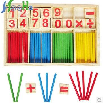 Bébé jouets boîte numérique bâton numérique blocs de construction numériques, barres de jeu unisexe Montessori jouets parentaux> 3 ans