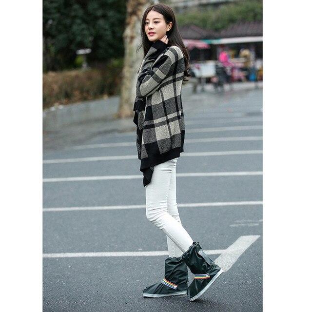 e6fc3fca0e68 Black Hunter Rain Boots Women and Men Unisex Fashion Style Adjustable  Topline with Rainbow Band