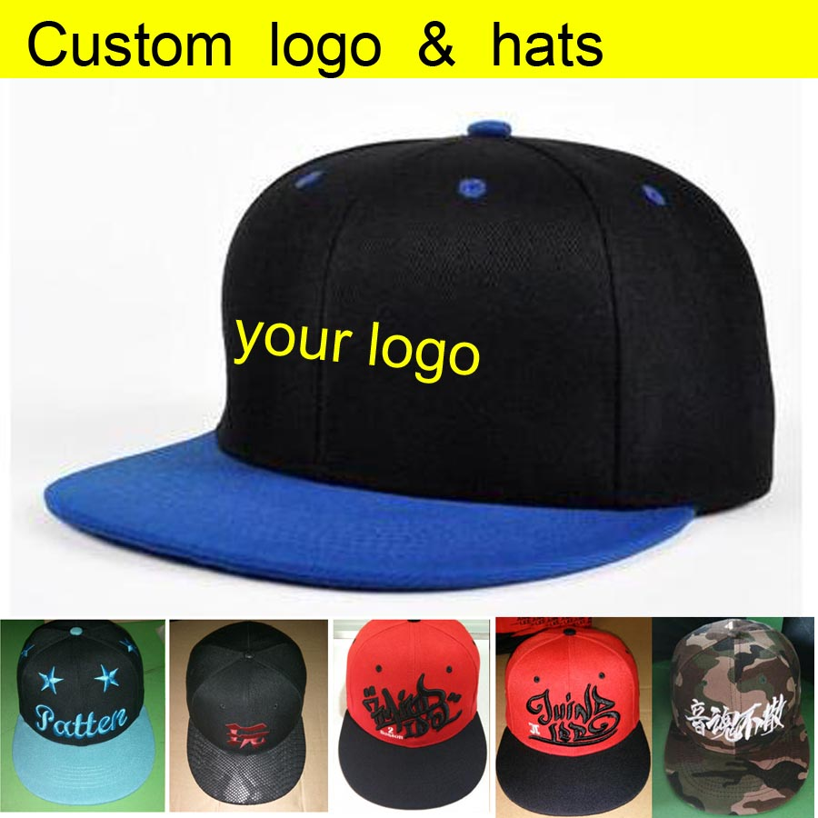 50pcs A lot factory wholesale directly custom snapback 50%-60% discount  shipping hip-hop adult and kids caps make your logo 5ae3a14fa893