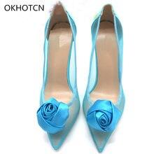 48d12d72b0 Transparent Heels with Roses Promotion-Shop for Promotional ...