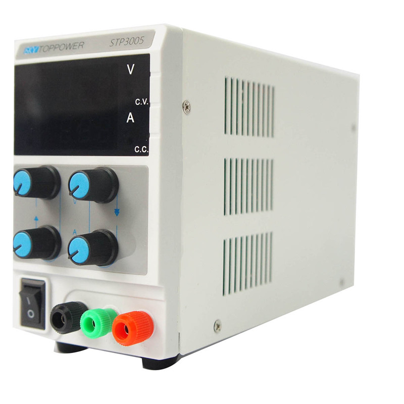 SKYTOPPOWER DC power supply maintenance power supply 110/230V 0-5A 3-bit display test power STP3005 Adjustable Power Supply cps 6011 60v 11a digital adjustable dc power supply laboratory power supply cps6011