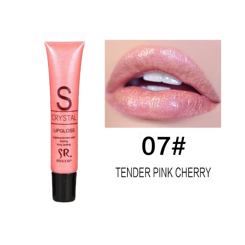 Long Lasting Moisturizer Glitter Lip Gloss 3