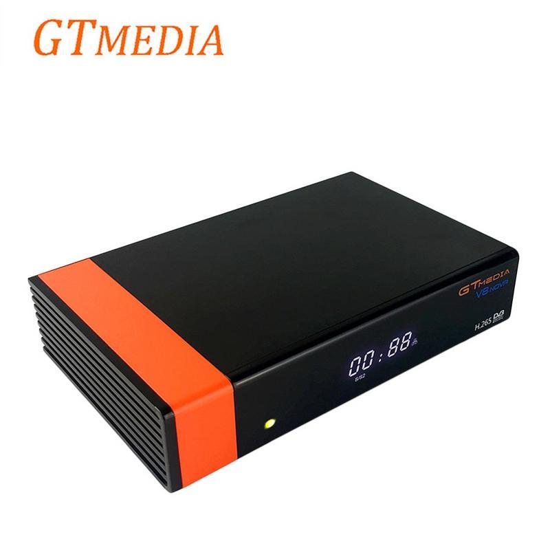 Gtmedia V8 NOVA Same As Freesat V9 SUPER, DVB S2 Satellite Receiver Built-In WiFi Support H.265 AVS Can Replace Freesat V8 Super gtmedia v8 nova dvb s2 satellite receiver support h 265 cccam newcamd power vu biss built wifi better freesat v8 super v9 super