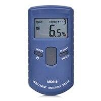Digital Gỗ Moisture Meter Gỗ Thông Minh Độ Ẩm Meter Làm Ẩm Detector Tester Giấy Inductive Moisture Analyzer MD918 4 ~ 80%