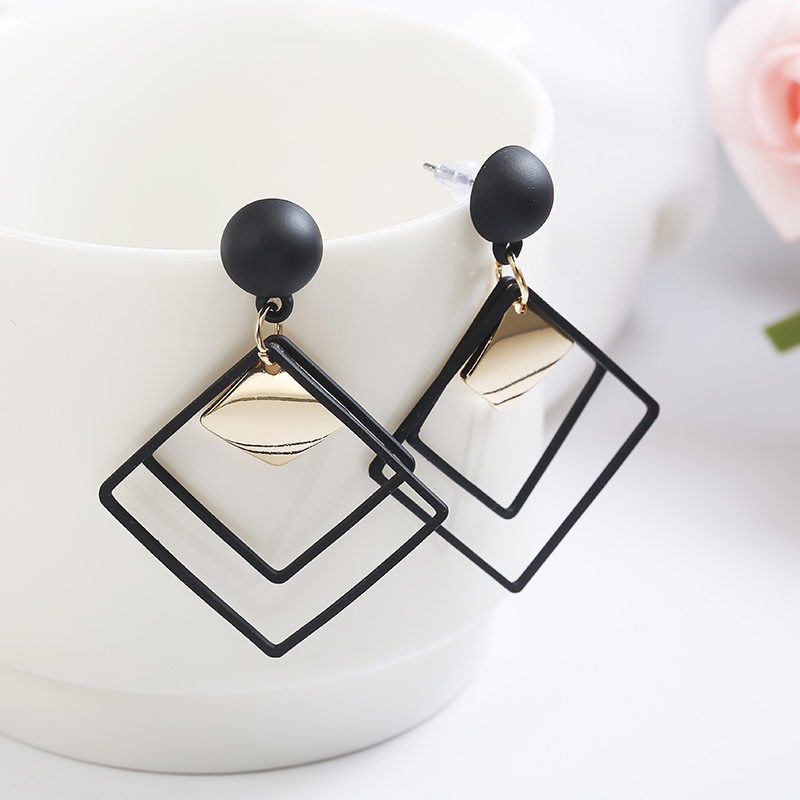 2018 Retro women's fashion statement earring earrings for wedding party Christmas gift wholesale(China)