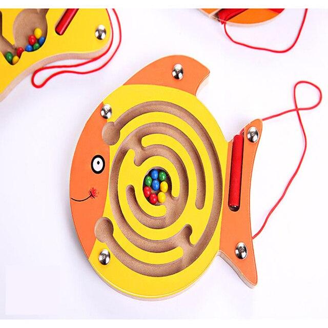 Labyrinthe magnétique poisson 1