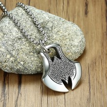 Men's Dragon Eye Pendant Necklace