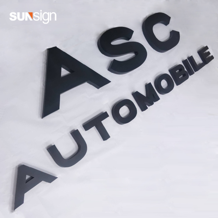 Decoration Advertising Sign 3d Colorful Fabricate Alphabet Letters