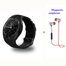 52fd63eb46b Bluetooth Smartwatch GS1 Smart Watch Support Reloj Relogios 2G GSM SIM App  Sync Mp3 For Apple iPhone Xiaomi Android Phones phone