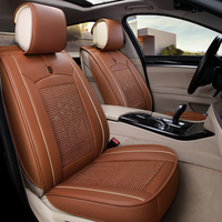 New arrival Microfiber leather ice silk car seat cushion universal fit seat covers on the car automobile accessories 1613