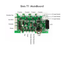 Sinis Z1/T1/T1-plus 3D Printer Accessories Motherboard Control Board Compatible Integrated Driver 12V-24V Power Input with Laser
