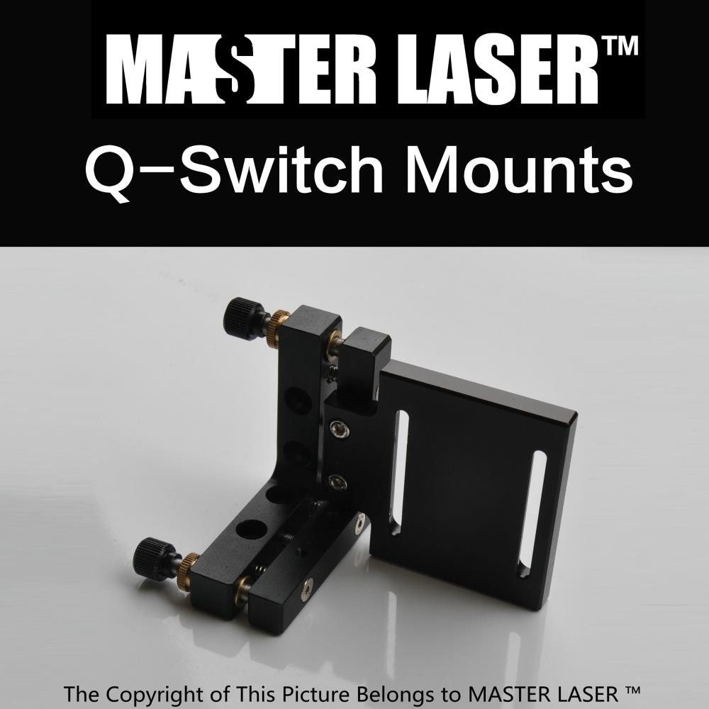 Best Quality Aluminum YAG Marking Machine Laser Q-SWITCH Mounts Bracket free shipping 1064nm laser protective glasses for workplace of nd yag laser marking and cutting machine supreme quality