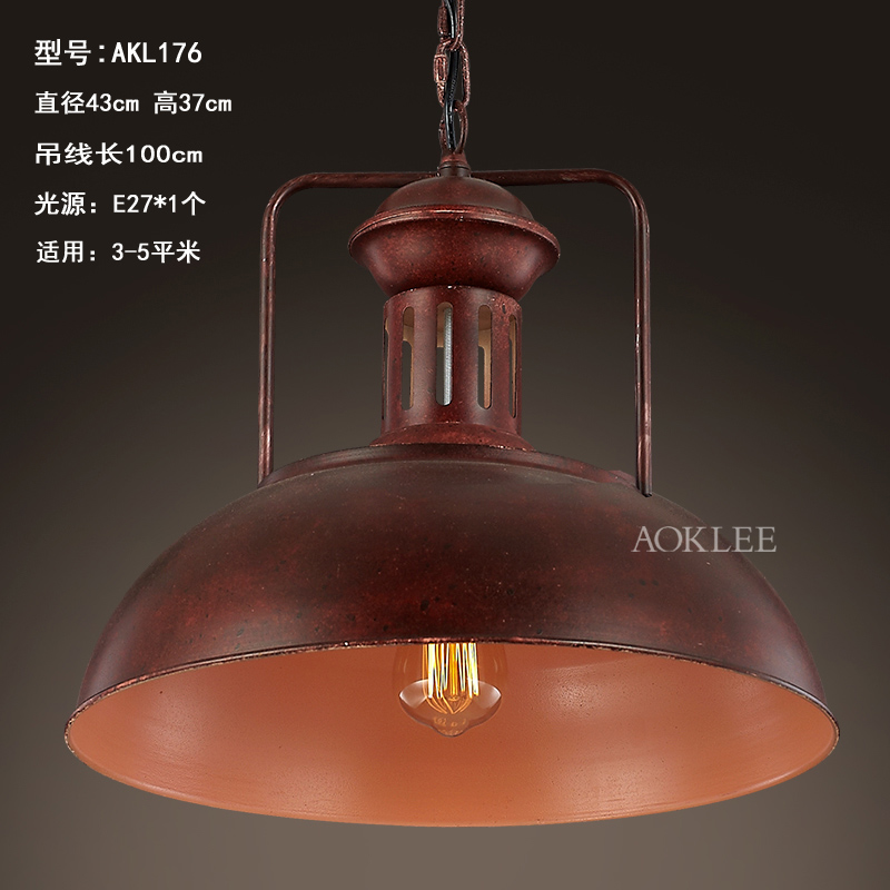 Personality Creative Loft Style Vintage Study Iron Pendant Light Retro Bar Coffee Shop Decoration Pendant Lamp Free Shipping цена и фото