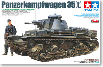 1/35 World War Ii German Panzer Kampfwagen 35 ( T ) 25112