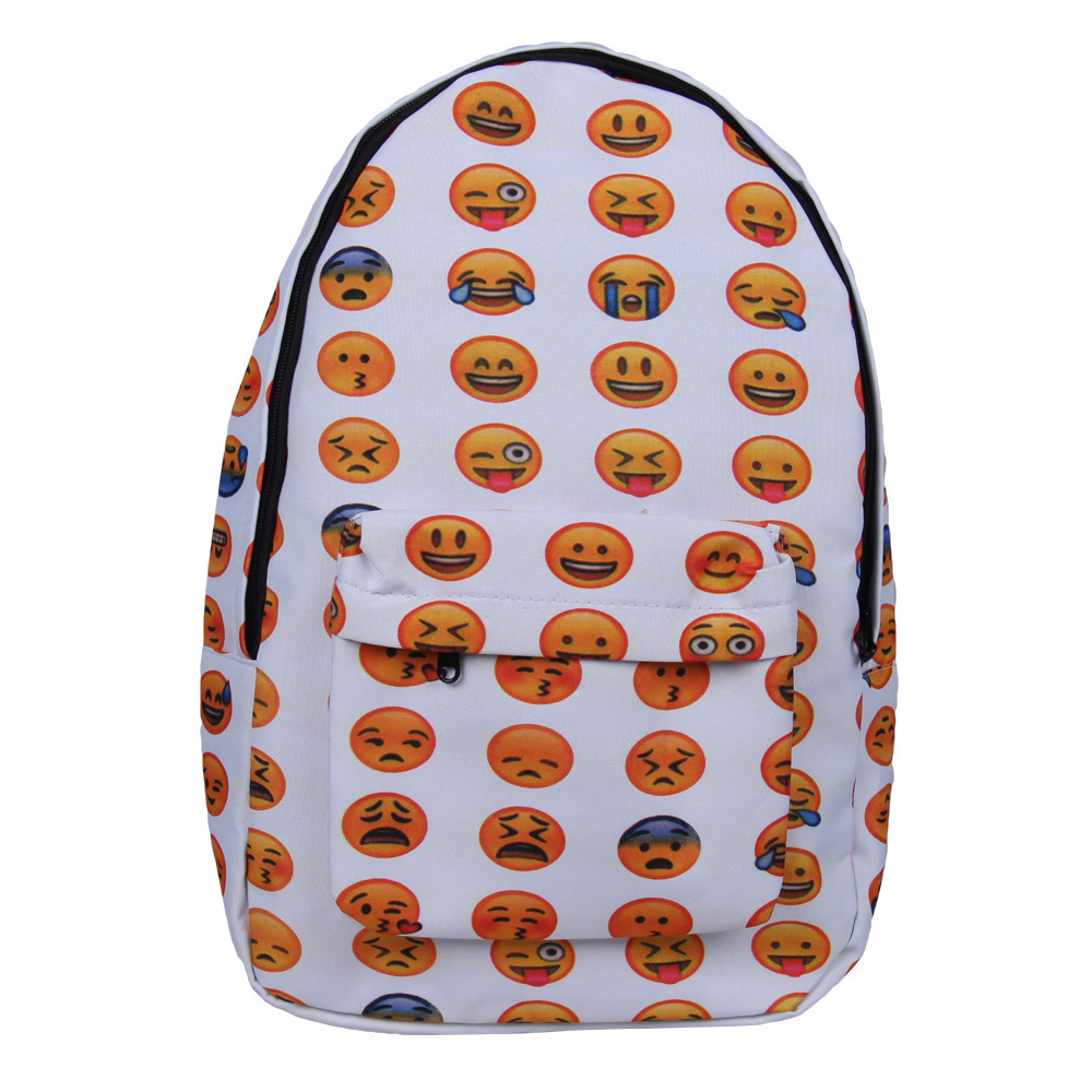 Aliexpress.com : Buy High Quality Emoji Backpack Smiley School ...