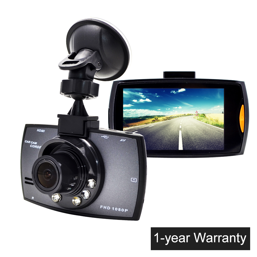 Min2 7 LCD Car font b Camera b font G30 Novatek 96220 Car DVR Dash Cam