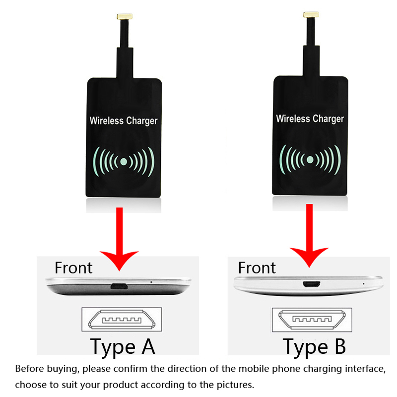 Phone Fast Charge Wireless Charging Base Transmitter Round For <font><b>Ginzzu</b></font> S5050 S5040 S5140 <font><b>ST6040</b></font> Flycat Optimum 5501 Optimum 5004 image