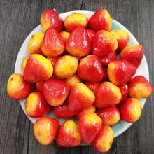 10 pcs strawberry simulation fruit artificial mini simulation for party at home wedding kitchen decoration - Strawberry Kitchen Decoration