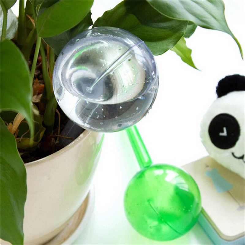 1 pc Perangkat Penyiraman Otomatis Tanaman Bunga Tanaman Tanaman Pot Bola Bola Kontrol Bulb Taman irigasi Tetes Waterer